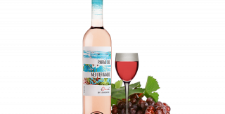 Paradiso mediteraneo rose, france 375 ml